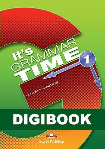 It's Grammar Time 1. Podręcznik cyfrowy (edycja angielska) DigiBook (kod)
