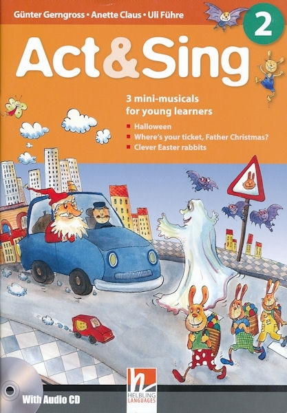 Act & Sing 2 (książka + Audio CD)