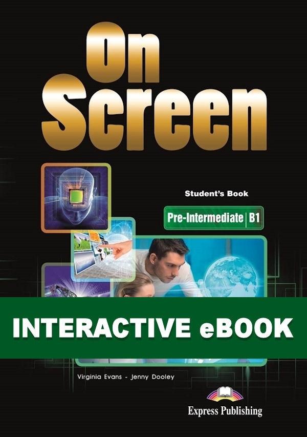 On Screen Pre-Inter. (B1). Podręcznik cyfrowy Interactive eBook (kod)
