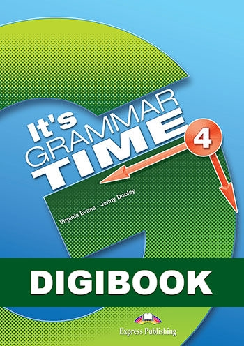 It's Grammar Time 4. Podręcznik cyfrowy DigiBook (kod)