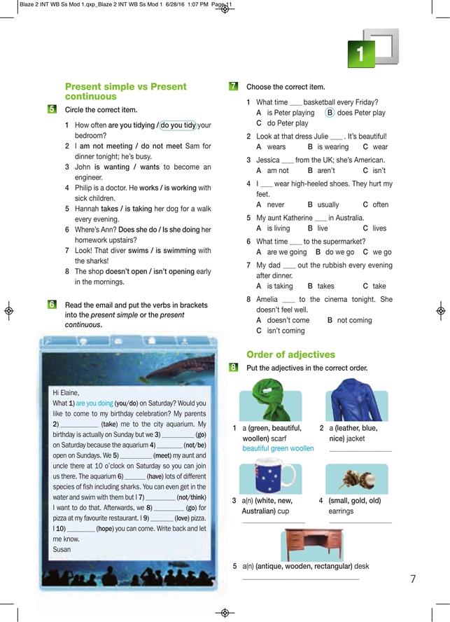 Blaze 2. Student's Workbook & Grammar Book (Ćwiczenia wersja dla ucznia)