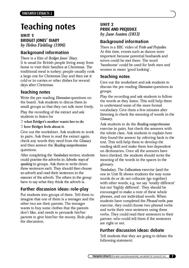 English Timesavers: Extracts 2 (książka + Audio CD)