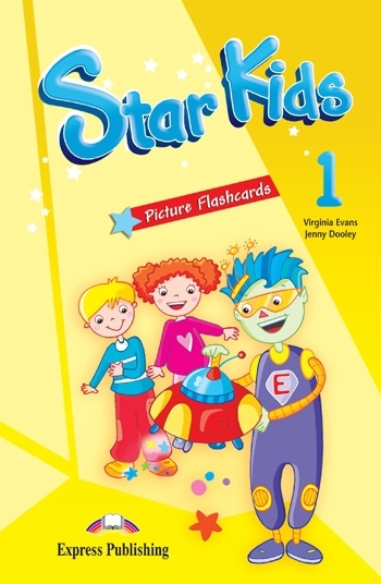 Star Kids 1. Picture Flashcards