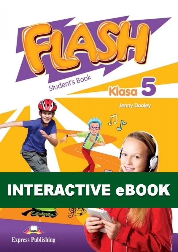 Flash Klasa 5. Podręcznik cyfrowy Interactive eBook (płyta)