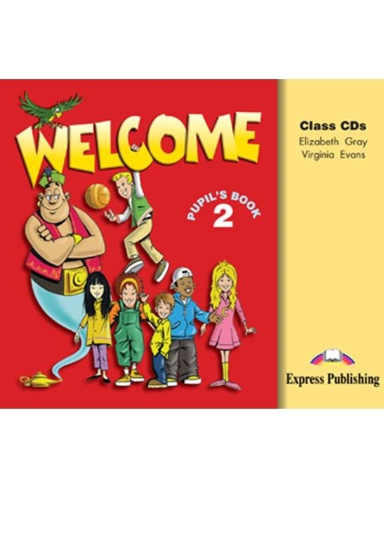Welcome 2. Class Audio CDs (set of 3)