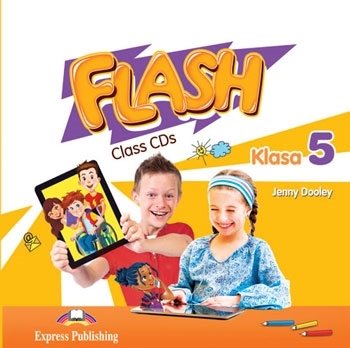 Flash Klasa 5. Class Audio CDs