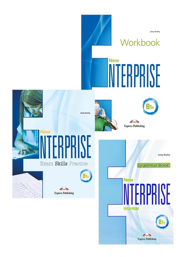 New Enterprise B1+. Workbook Practice Pack + DigiBook (kod)
