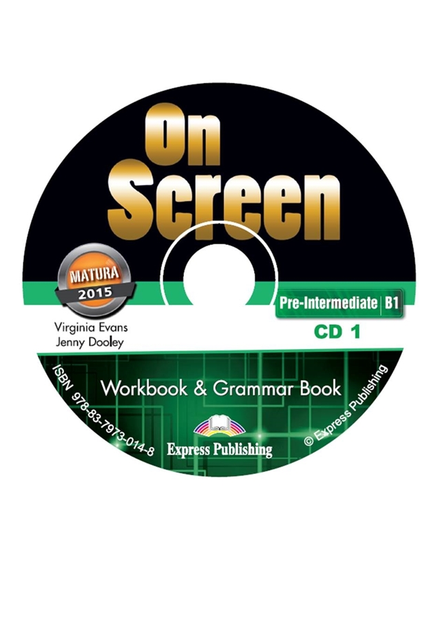 On Screen Pre-inter. (B1). Workbook & Grammar Audio CDs (edycja polska)