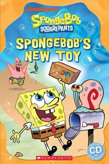 Spongebob Squarepants: SpongeBob's New Toy. Reader + Audio CD