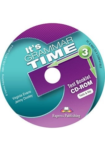 It's Grammar Time 3. Test Booklet CD-ROM