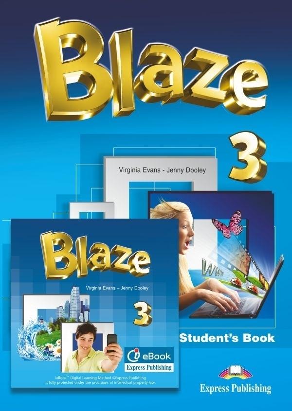 Blaze 3. Podręcznik papierowy + Interactive eBook (płyta)