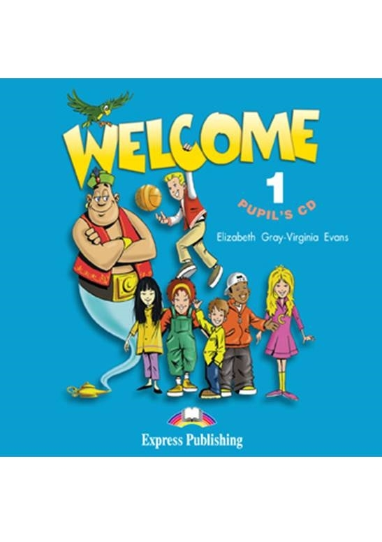 Welcome 1. Pupil's Audio CDs (set of 2)