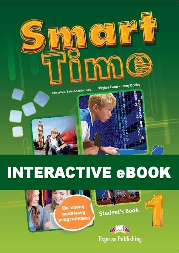Smart Time 1. Podręcznik cyfrowy Interactive eBook (płyta)