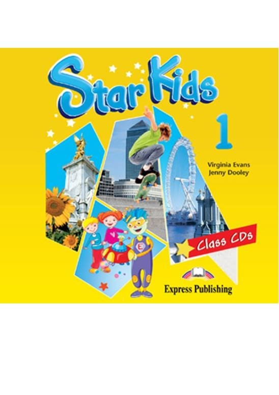Star Kids 1. Class Audio CDs (set of 2)