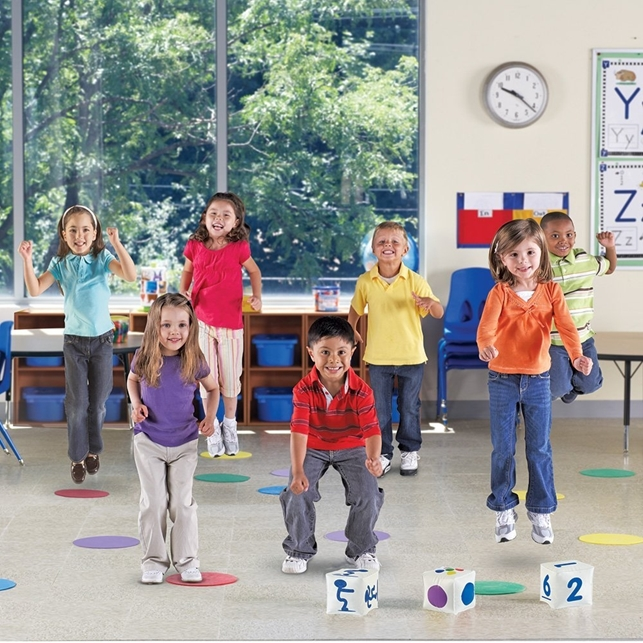 Ready, Set, Move: Classroom Activity Set
