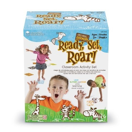 Wild About Animals: Ready, Set, Roar!
