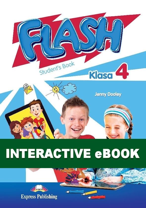 Flash Klasa 4. Podręcznik cyfrowy Interactive eBook (płyta)