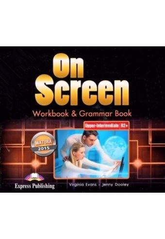 On Screen Upper-Inter. (B2+). Workbook & Grammar Book Audio CDs (edycja polska)