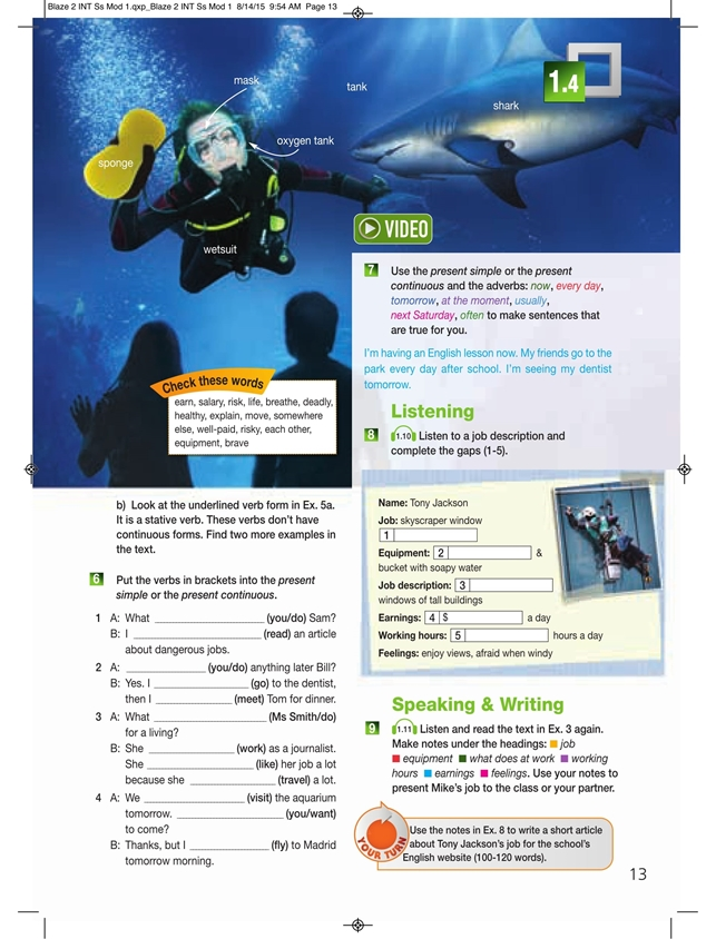Blaze 2. Student's Pack (Podręcznik + Interactive eBook)