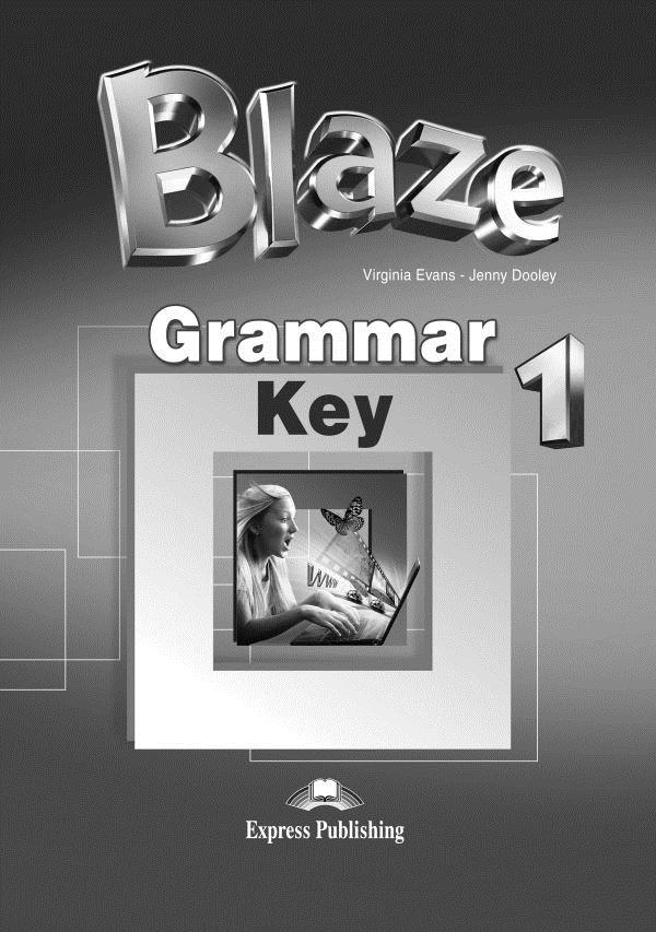 Blaze 1. Grammar Book Key
