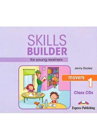 Skills Builder MOVERS 1 New Edition 2018. Class Audio CDs (set of 3)