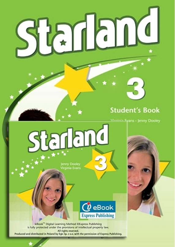 Starland 3. Student's Pack (Student's Book niewieloletni + interactive eBook)
