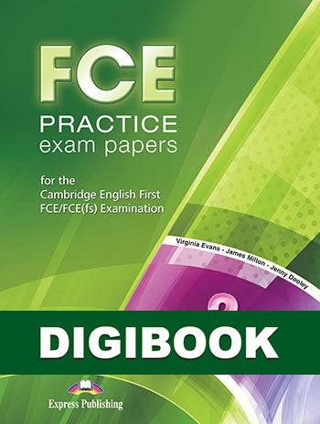 FCE Practice Exam Papers 2. Książka ucznia cyfrowa DigiBook (kod)