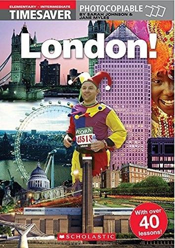 English Timesavers: London! (książka + plakat)