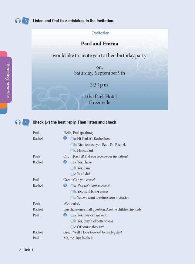 Smart Talk 3 Listening & Speaking Skills. Student's Book