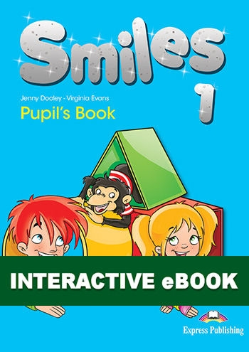 Smiles 1. Podręcznik cyfrowy Interactive eBook (kod)