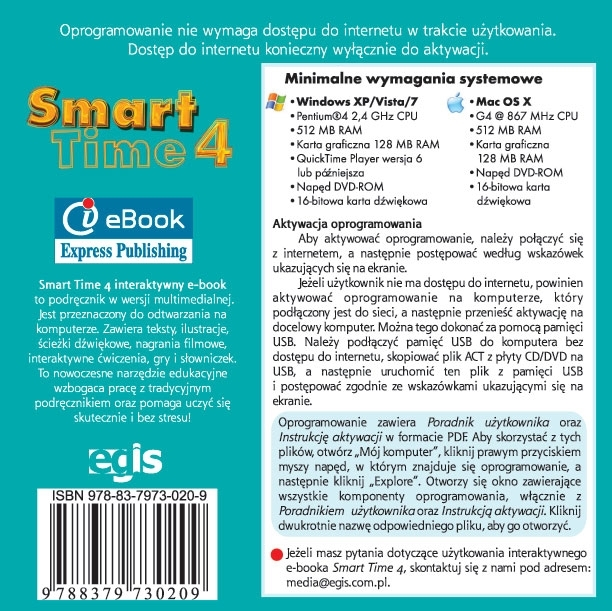 Smart Time 4. Interactive eBook
