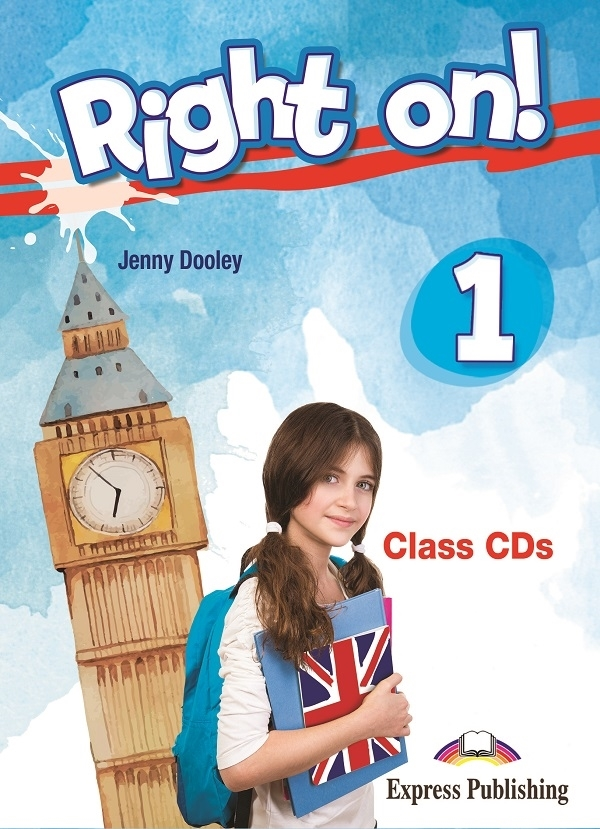 Right On! 1 Class Audio CDs (set of 3)