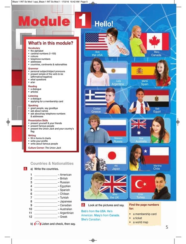 Blaze 1. Student's Pack (Podręcznik + Interactive eBook)