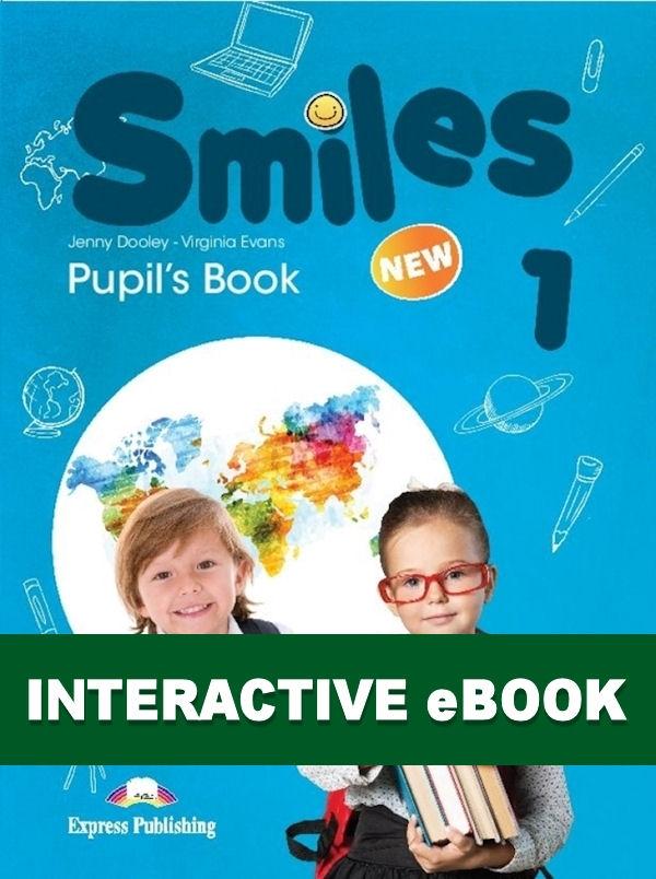 New Smiles 1. Podręcznik cyfrowy Interactive eBook (płyta)