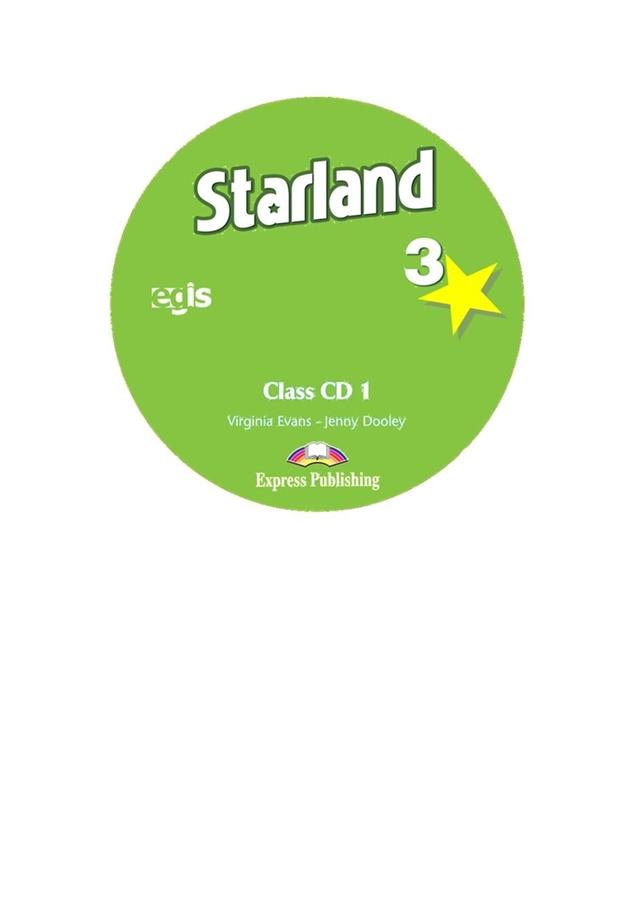 Starland 3. Class Audio CDs (set of 3)