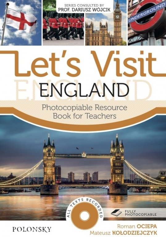 Let's Visit England. Photocopiable Resource Book for Teachers (+ Audio CD)