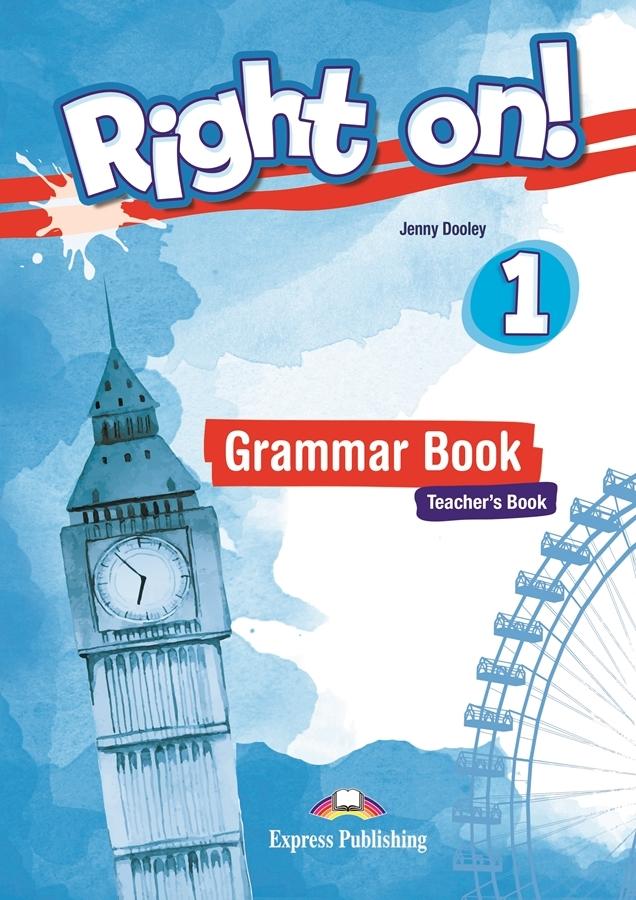 Right on! 1 Grammar Teacher's (Gramatyka - wersja dla nauczyciela) + kod DigiBook