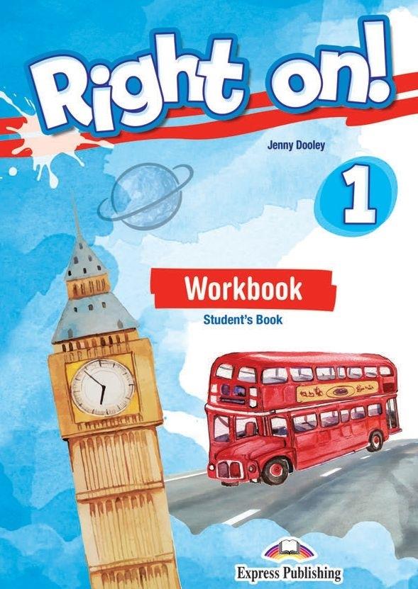 Right On! 1 Zeszyt ćwiczeń papierowy + DigiBook (kod)