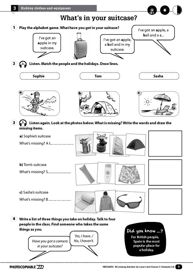 English Timesavers: 40 Listening Activities for Lower-Level Classes (książka + 2 płyty Audio CD)