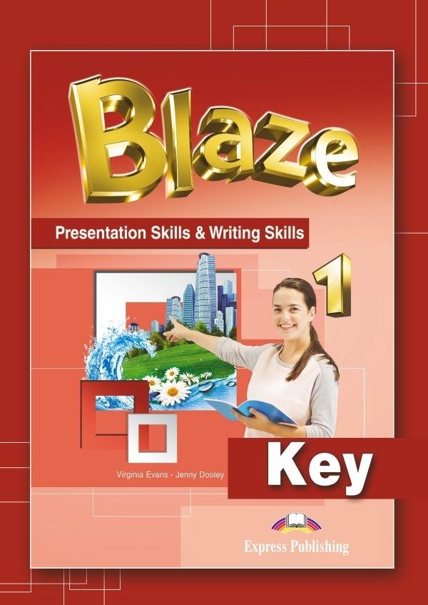 Blaze 1. Presentation Skills & Writing Skills Key
