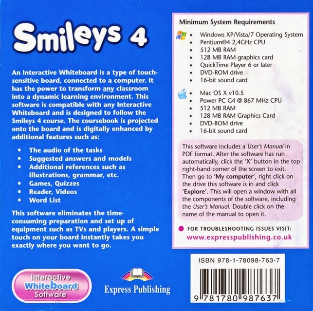 Smiles 4. Interactive Whiteboard Software