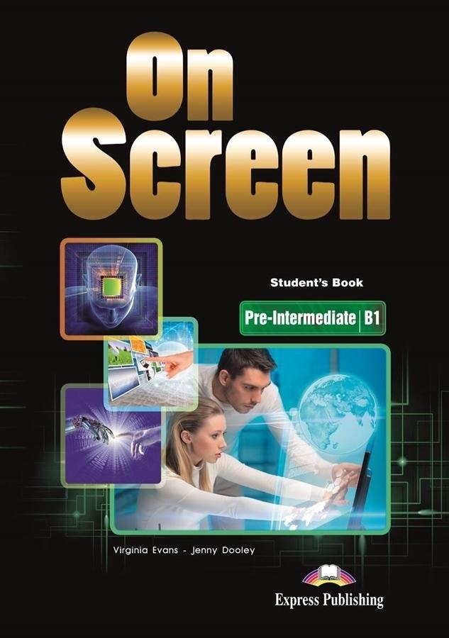 On Screen Pre-Inter. (B1). Student's Book + DigiBook (Podręcznik niewieloletni)