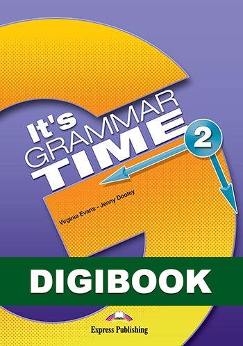 It's Grammar Time 2. Podręcznik cyfrowy (edycja angielska) DigiBook (kod)