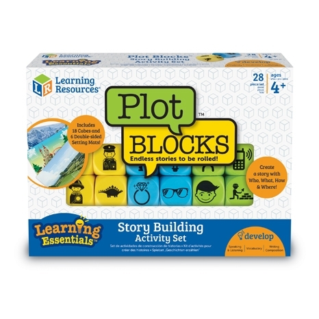 Plot Blocks: Story Building Activity Set