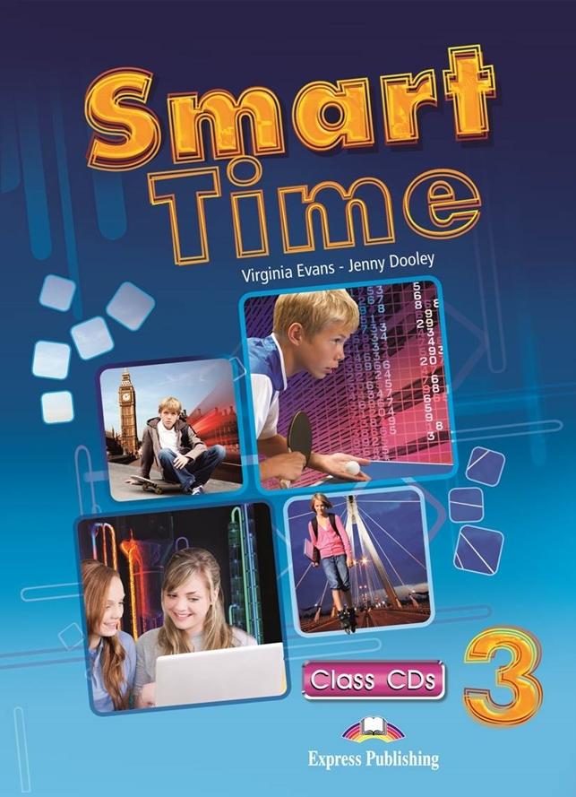 Smart Time 3. Class Audio CDs (set of 4) + Workbook Audio CD