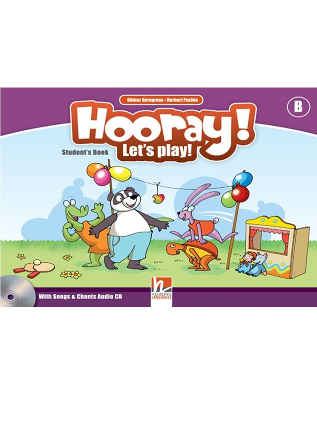 Hooray! Let's Play! level B Student's Book + CD