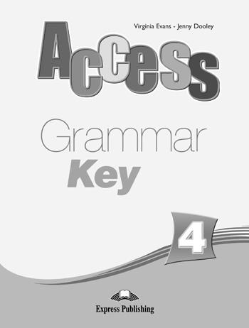 Access 4. Grammar Key