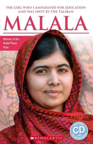 Malala. Reader + Audio CD (Poziom: 1)