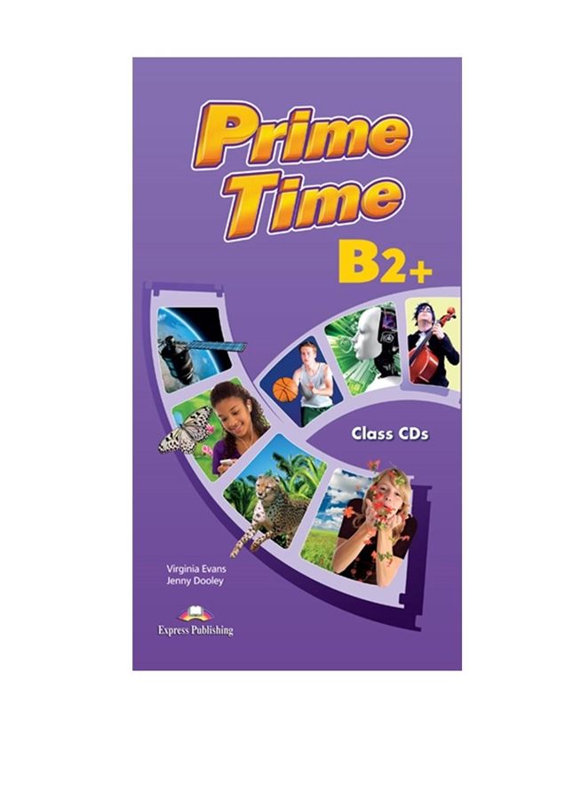Prime Time B2+. Class Audio CDs + Tests (set of 8)