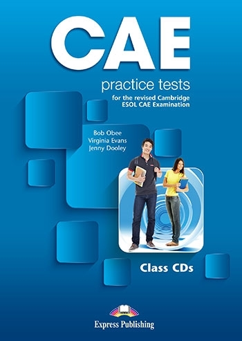 CAE Practice Tests. Class Audio CDs (set of 3)